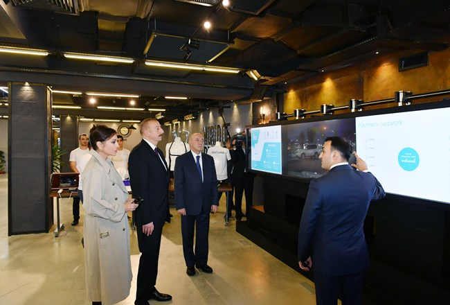 Ilham Aliyev inaugurated administrative building of E-Government Development Center